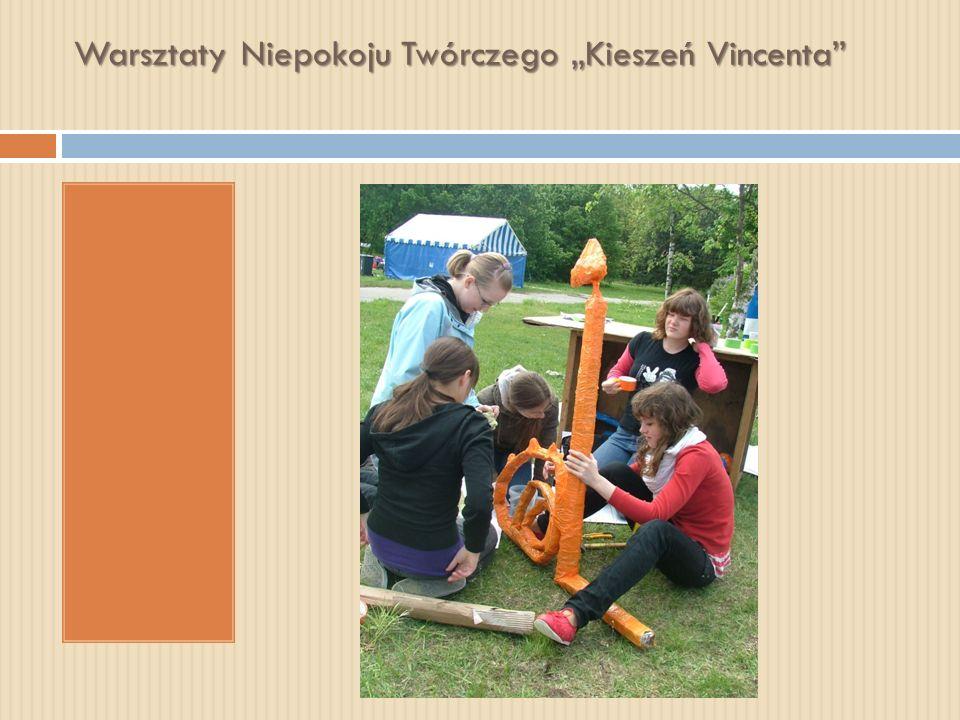 """Warsztaty Niepokoju Twórczego """"Kieszeń Vincenta"""
