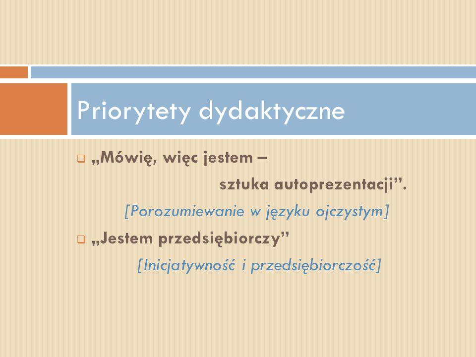 Priorytety dydaktyczne