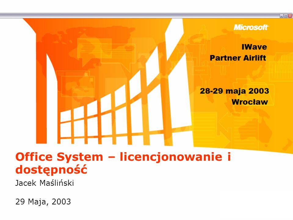 Office System – licencjonowanie i dostępność