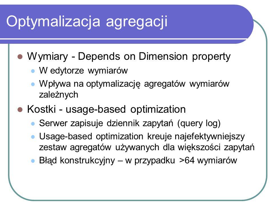 Optymalizacja agregacji