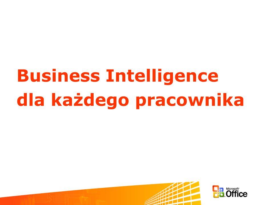 Business Intelligence dla każdego pracownika