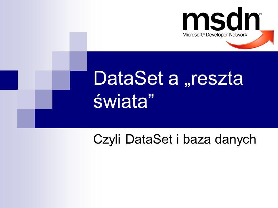 """DataSet a """"reszta świata"""