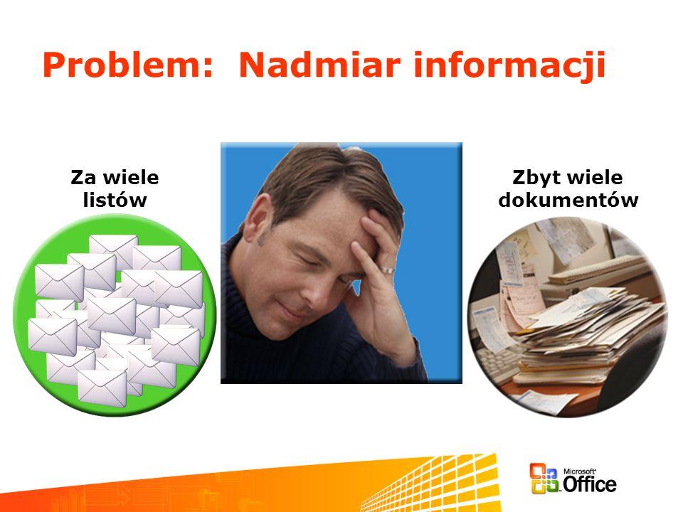 Problem: Nadmiar informacji
