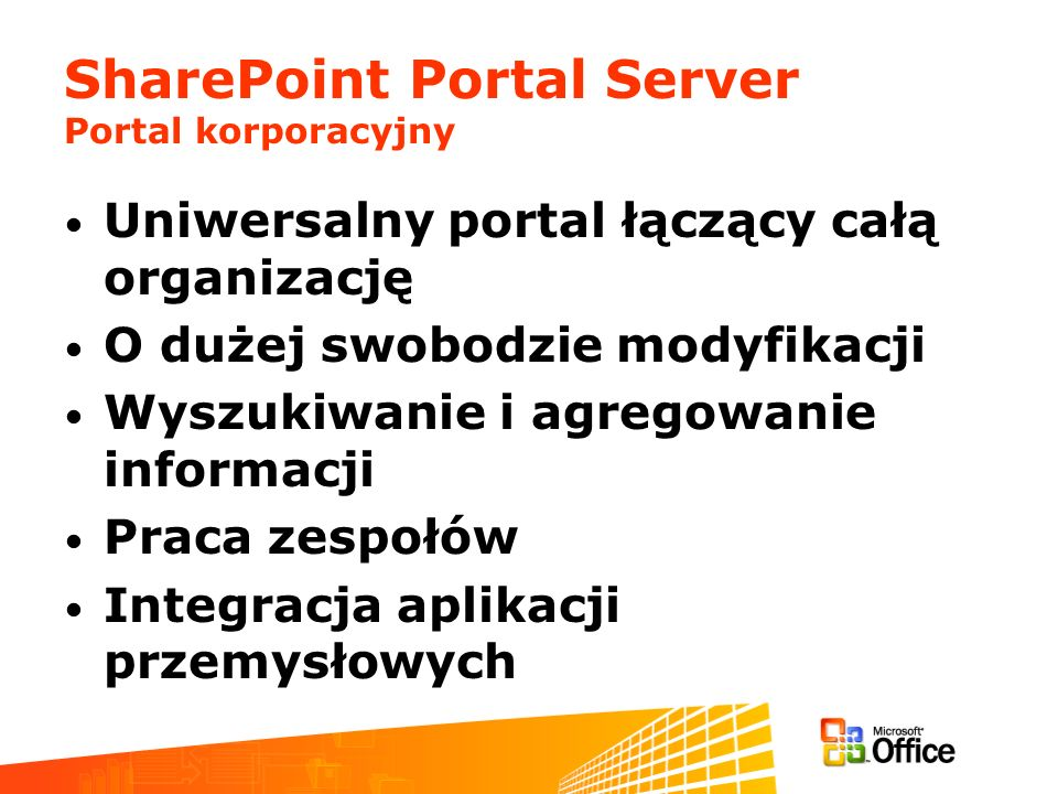 SharePoint Portal Server Portal korporacyjny