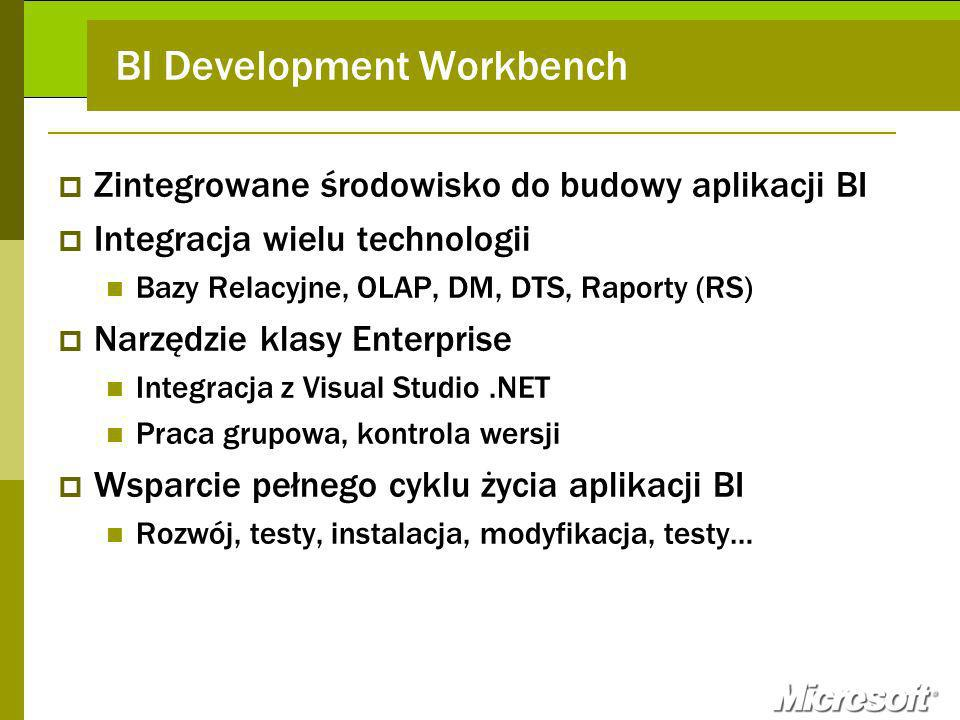 BI Development Workbench