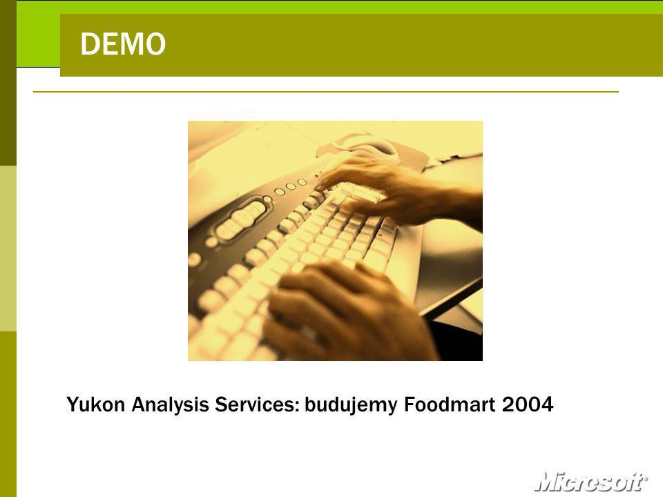 DEMO Yukon Analysis Services: budujemy Foodmart 2004