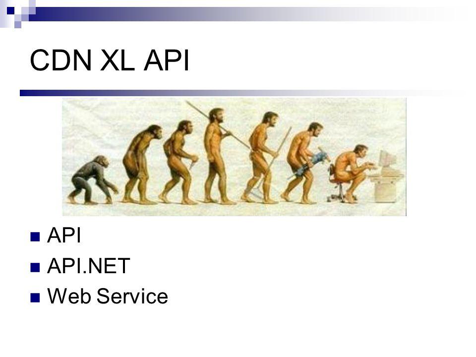 CDN XL API API API.NET Web Service