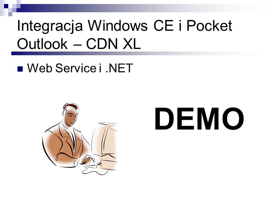 Integracja Windows CE i Pocket Outlook – CDN XL