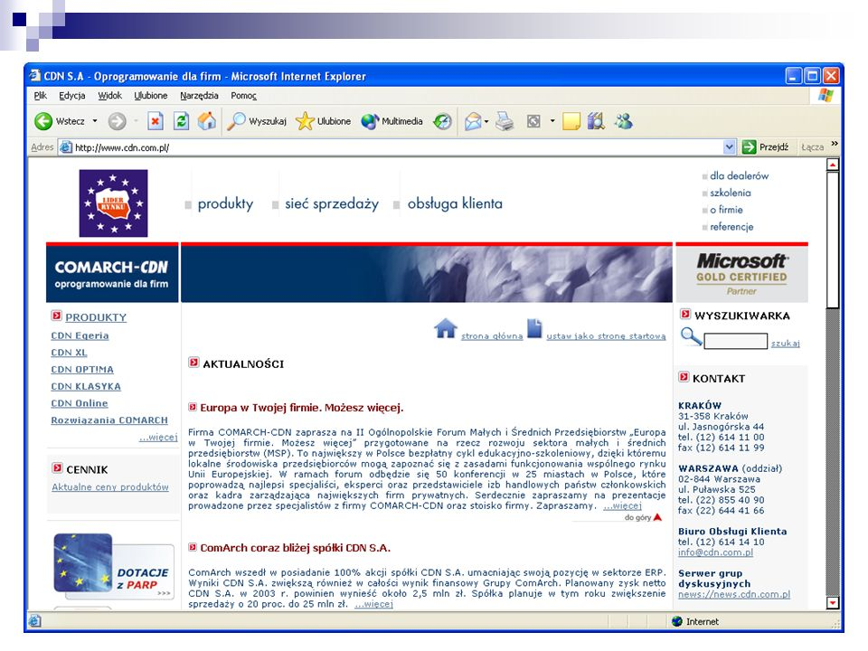 Microsoft Office 2003 Joint Development Program (JDP)