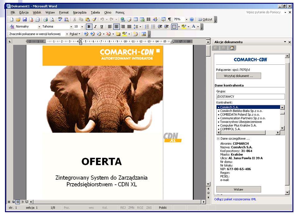 Ofertowanie w Microsoft Word 2003