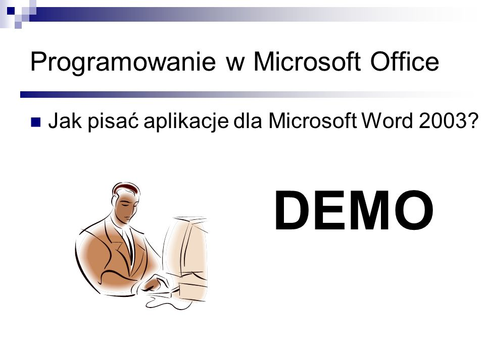 Programowanie w Microsoft Office