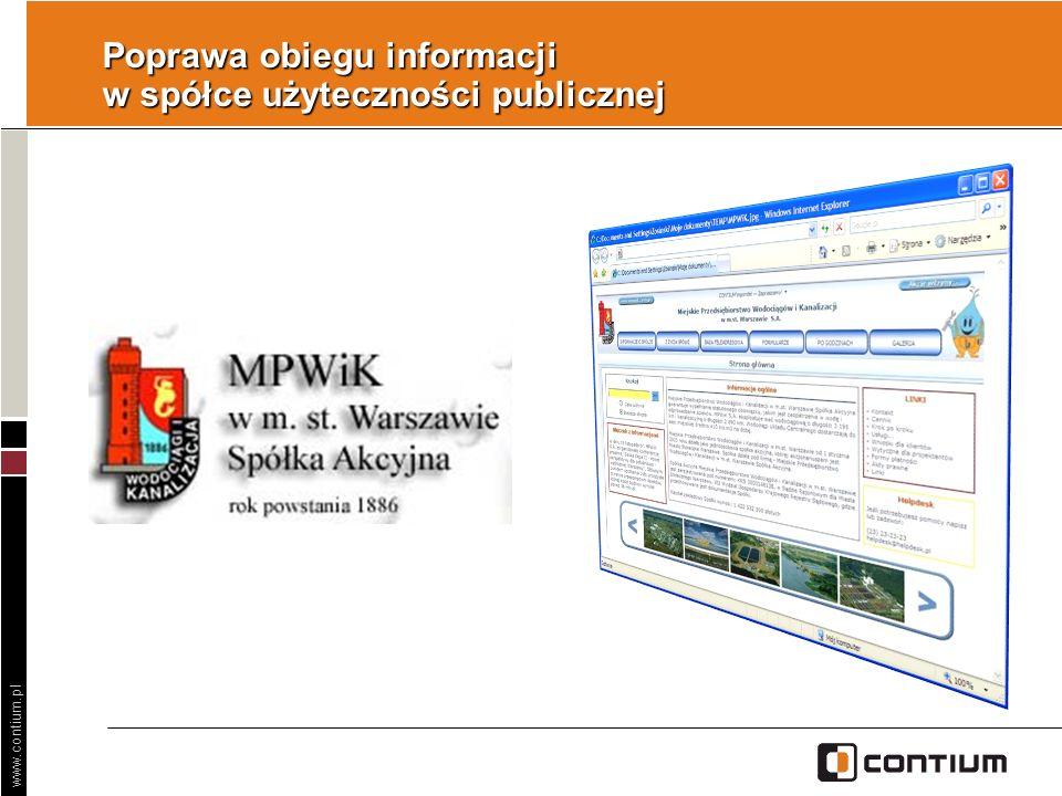 Poprawa obiegu informacji w spółce użyteczności publicznej