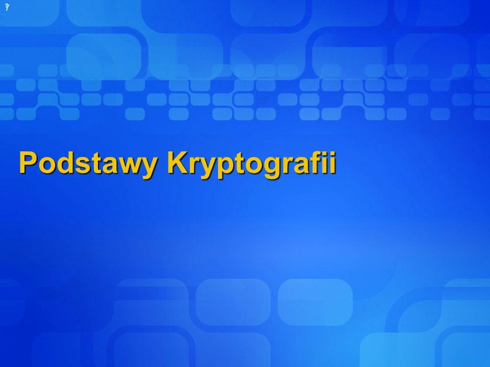 Podstawy Kryptografii