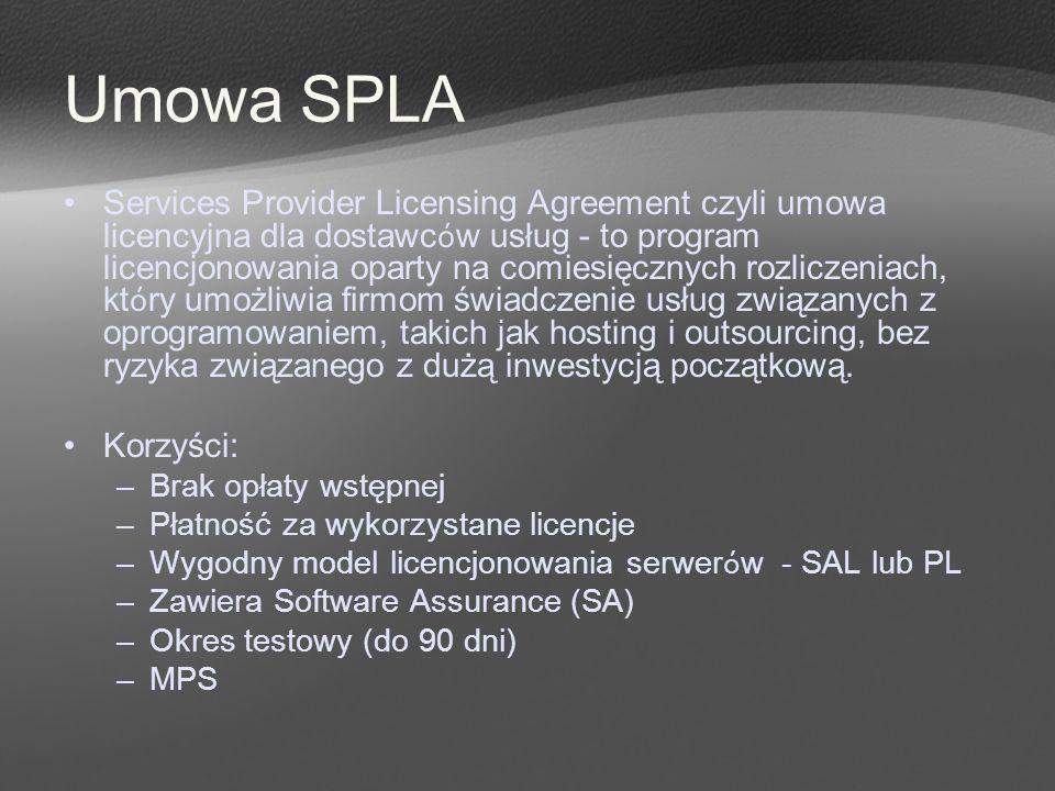 Umowa SPLA