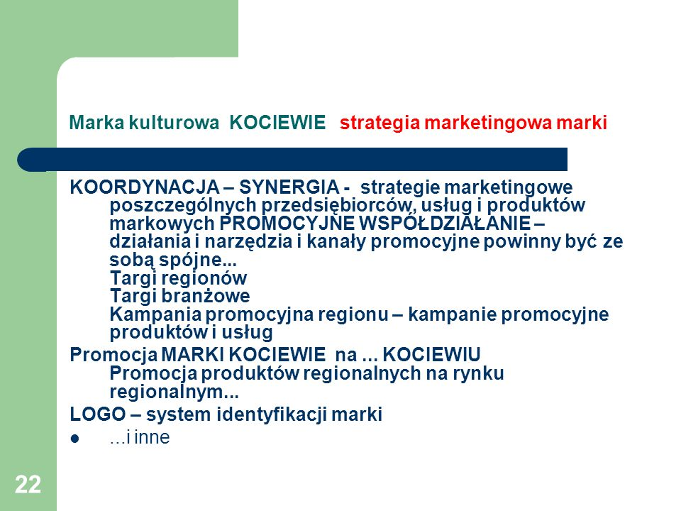 Marka kulturowa KOCIEWIE strategia marketingowa marki