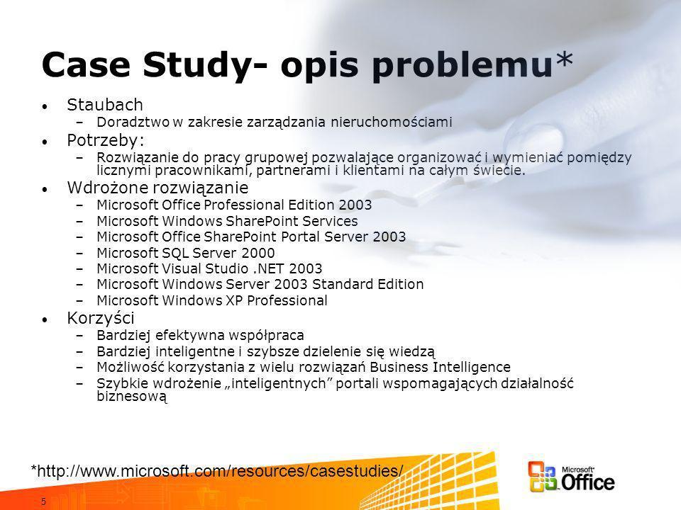 Case Study- opis problemu*