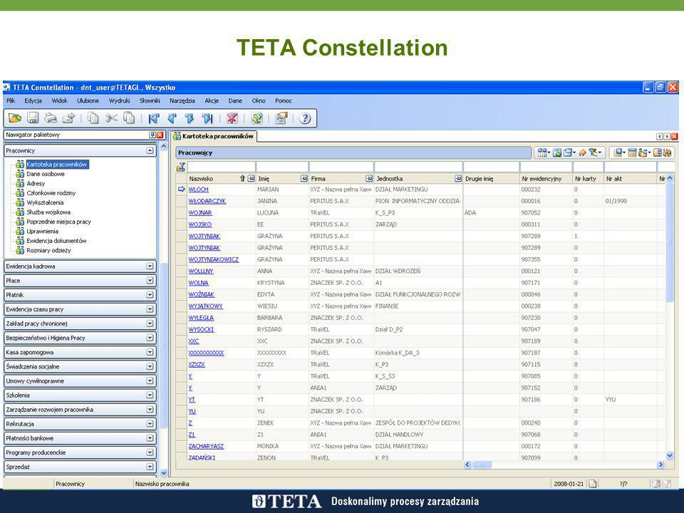 TETA Constellation TETA Constellation to pakiet ERP
