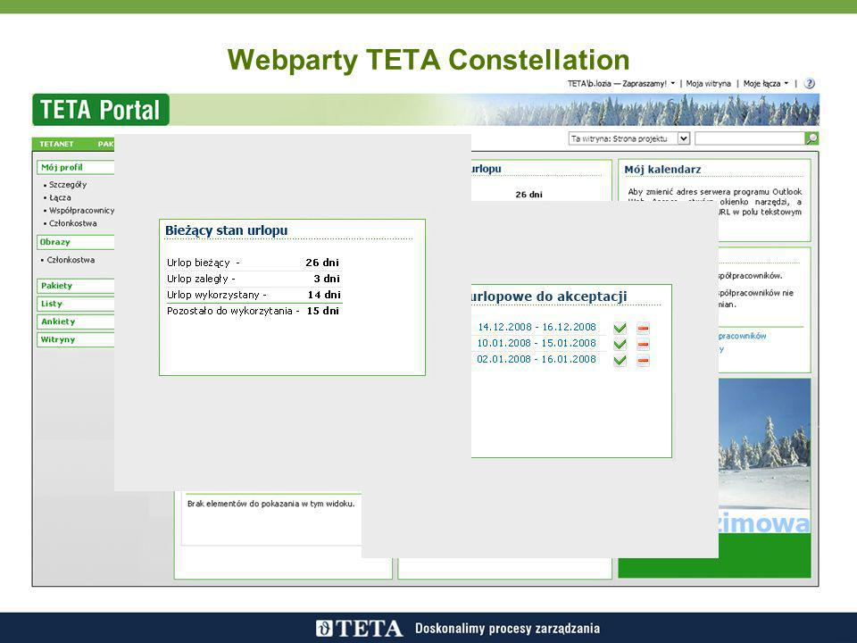 Webparty TETA Constellation