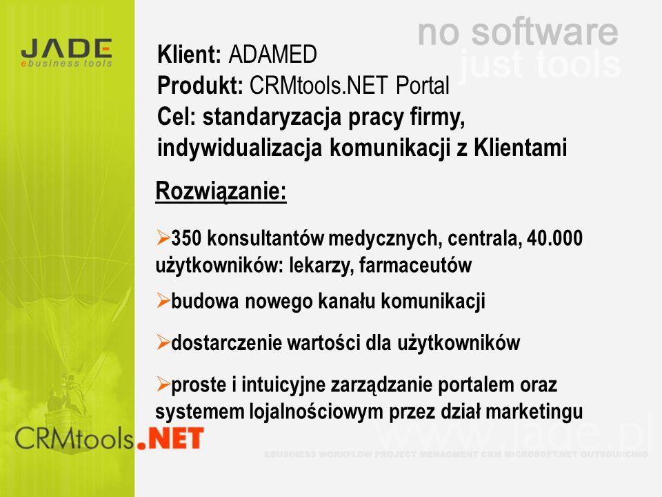 Produkt: CRMtools.NET Portal