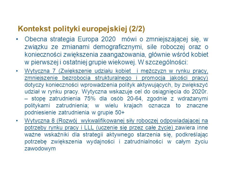 Kontekst polityki europejskiej (2/2)