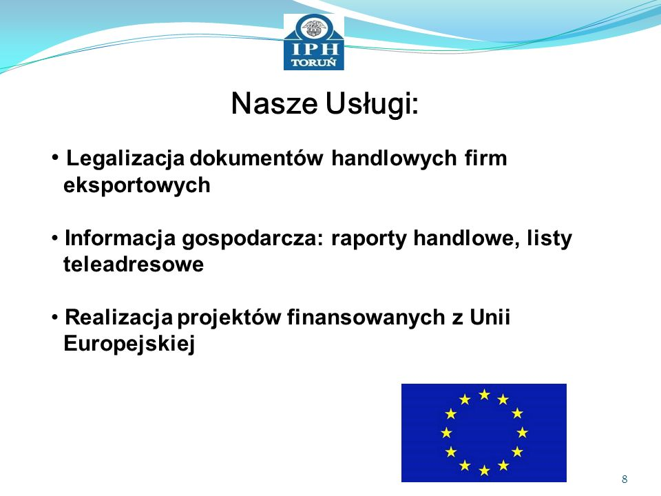 Nasze Usługi: Legalizacja dokumentów handlowych firm eksportowych