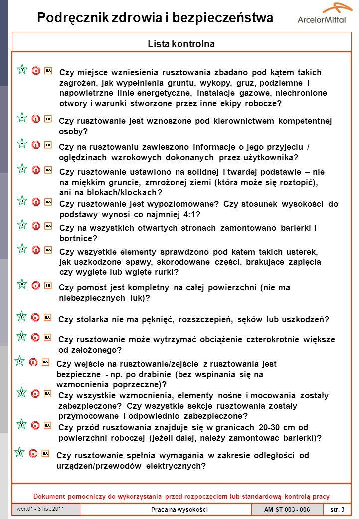Lista kontrolna