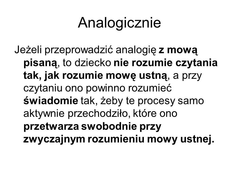 Analogicznie
