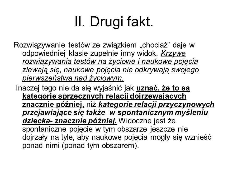 II. Drugi fakt.
