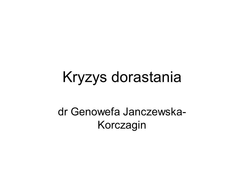 dr Genowefa Janczewska-Korczagin
