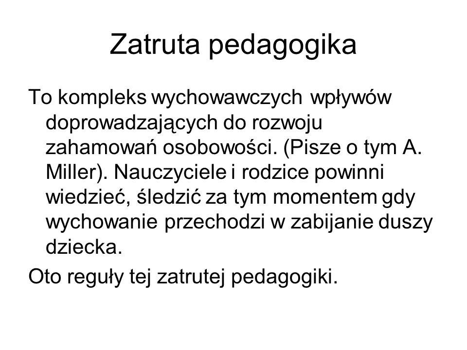 Zatruta pedagogika