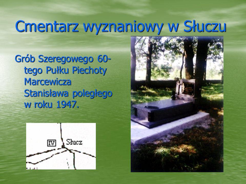 Cmentarz wyznaniowy w Słuczu