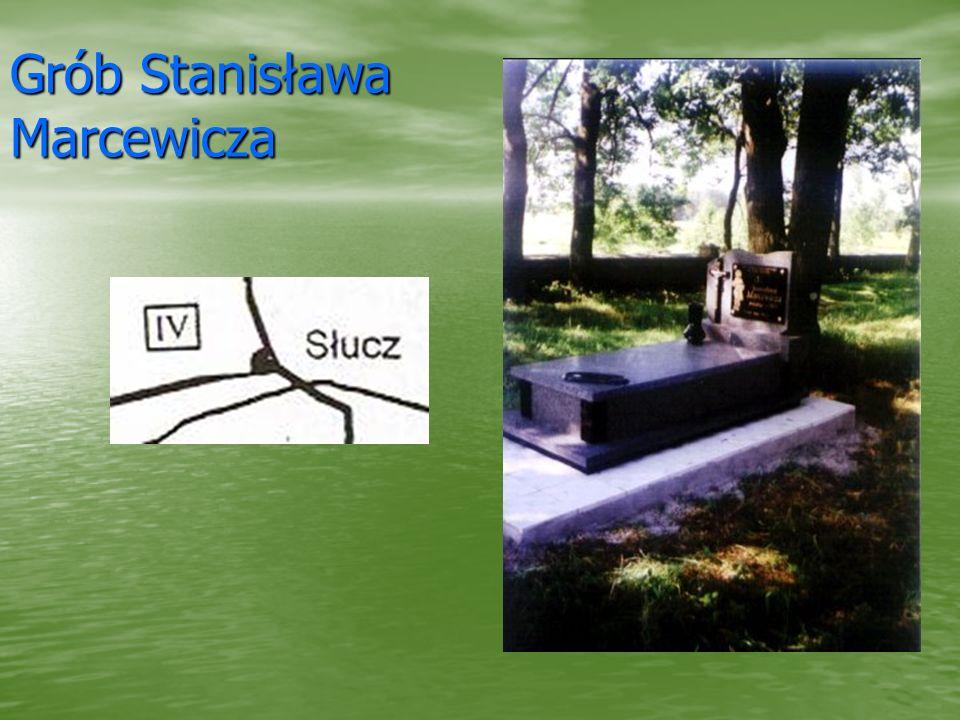 Grób Stanisława Marcewicza