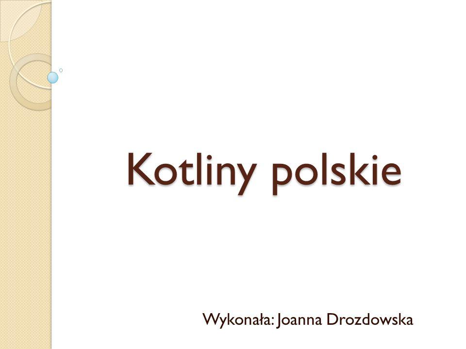Wykonała: Joanna Drozdowska