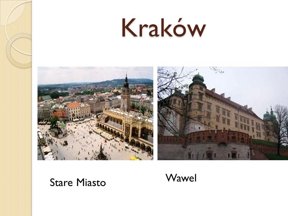 Kraków Wawel Stare Miasto