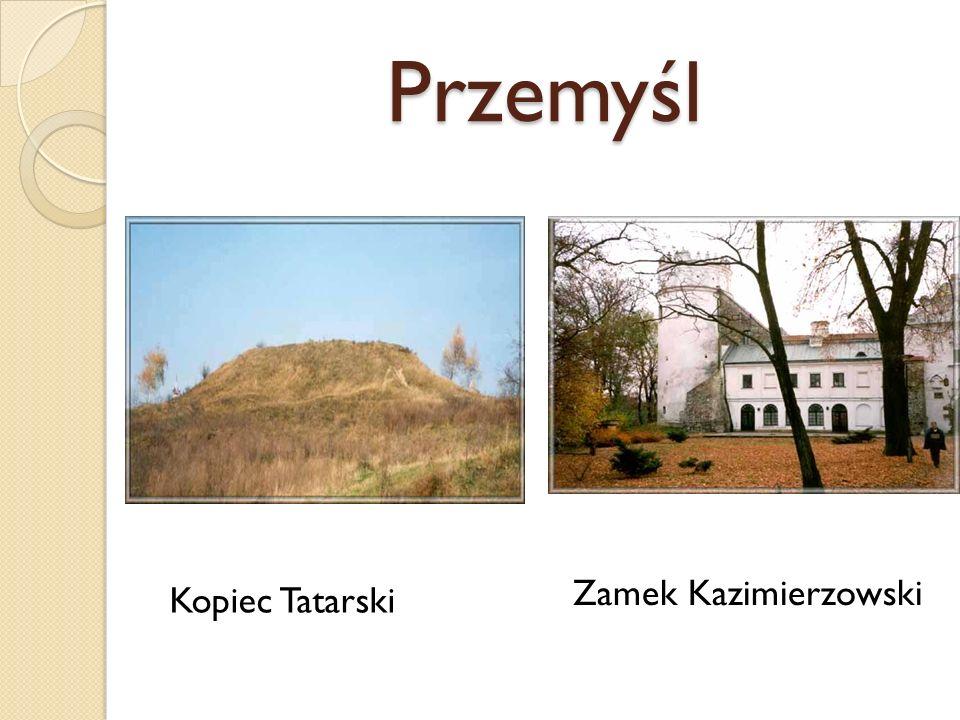 Przemyśl Zamek Kazimierzowski Kopiec Tatarski