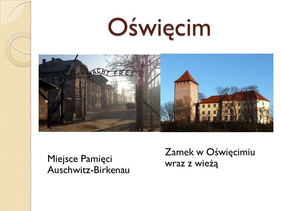 Oświęcim Zamek w Oświęcimiu wraz z wieżą