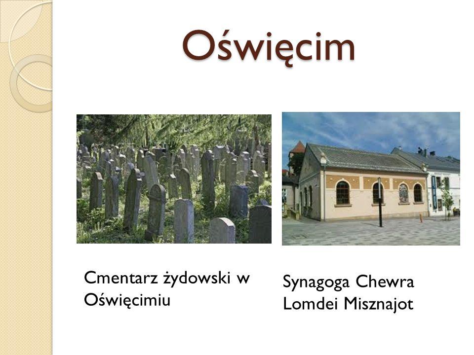 Oświęcim Cmentarz żydowski w Oświęcimiu