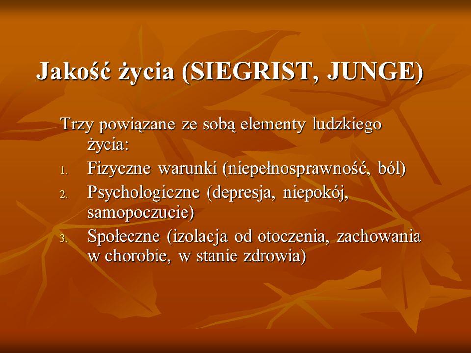 Jakość życia (SIEGRIST, JUNGE)