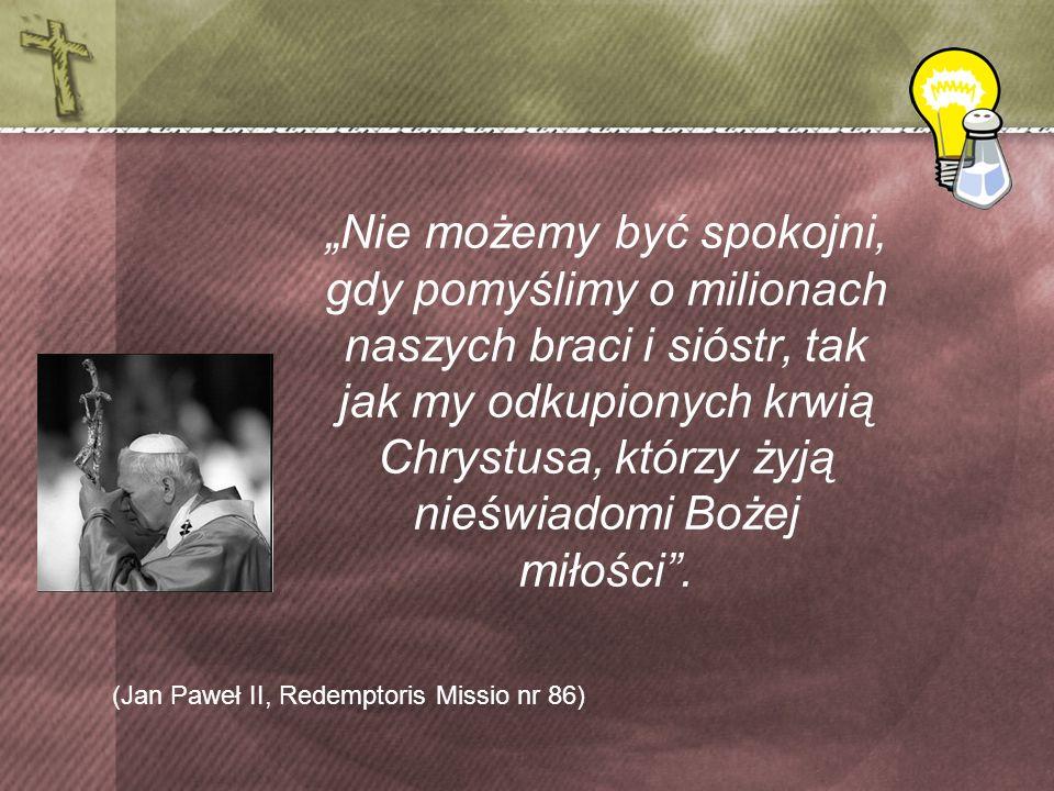 (Jan Paweł II, Redemptoris Missio nr 86)