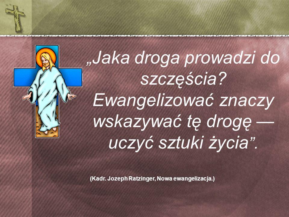 (Kadr. Jozeph Ratzinger, Nowa ewangelizacja.)
