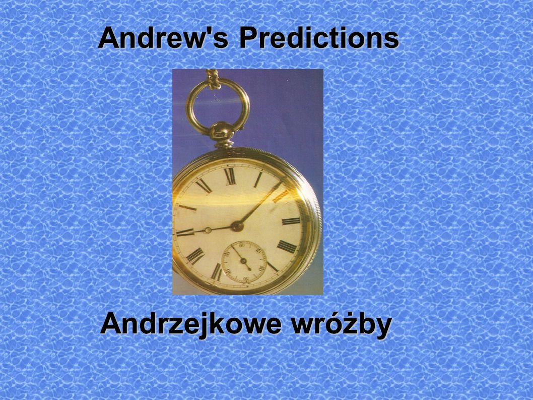 Andrew s Predictions Andrzejkowe wróżby