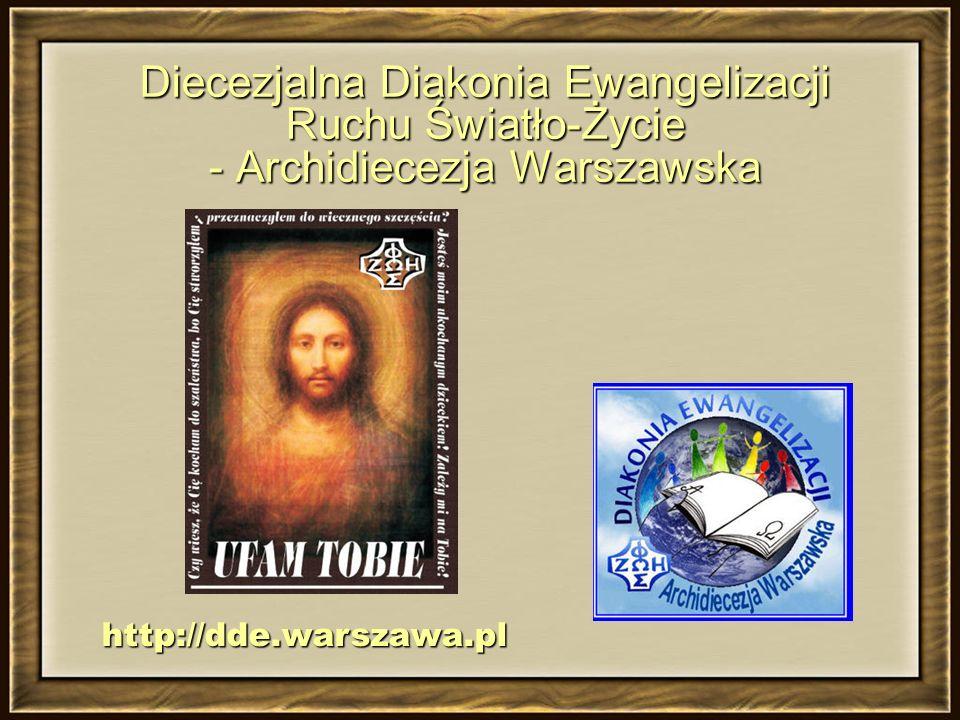 Diecezjalna Diakonia Ewangelizacji Ruchu Światło-Życie - Archidiecezja Warszawska