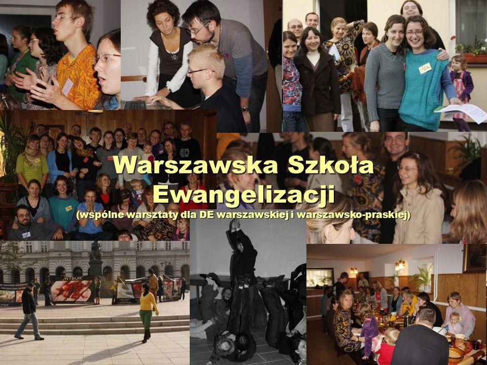 Warszawska Szkoła Ewangelizacji (wspólne warsztaty dla DE warszawskiej i warszawsko-praskiej)