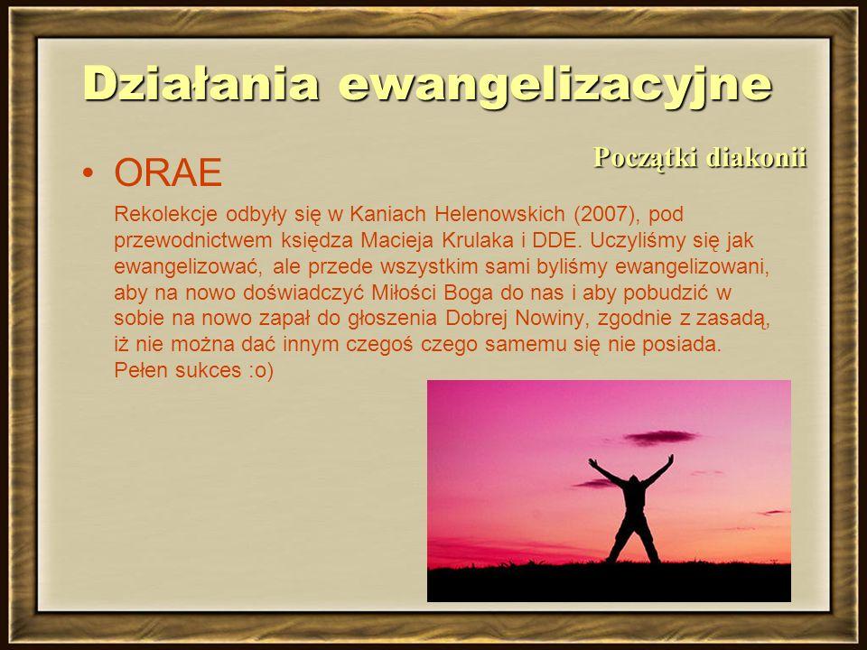 Działania ewangelizacyjne