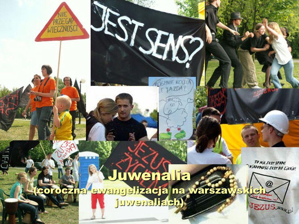 Juwenalia (coroczna ewangelizacja na warszawskich juwenaliach)