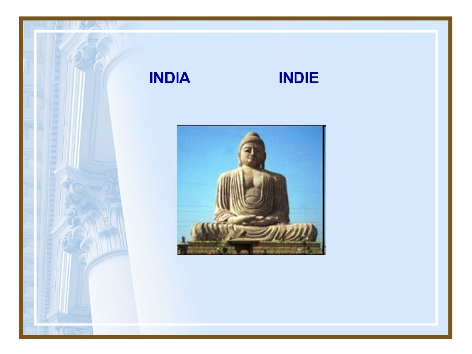 INDIA INDIE