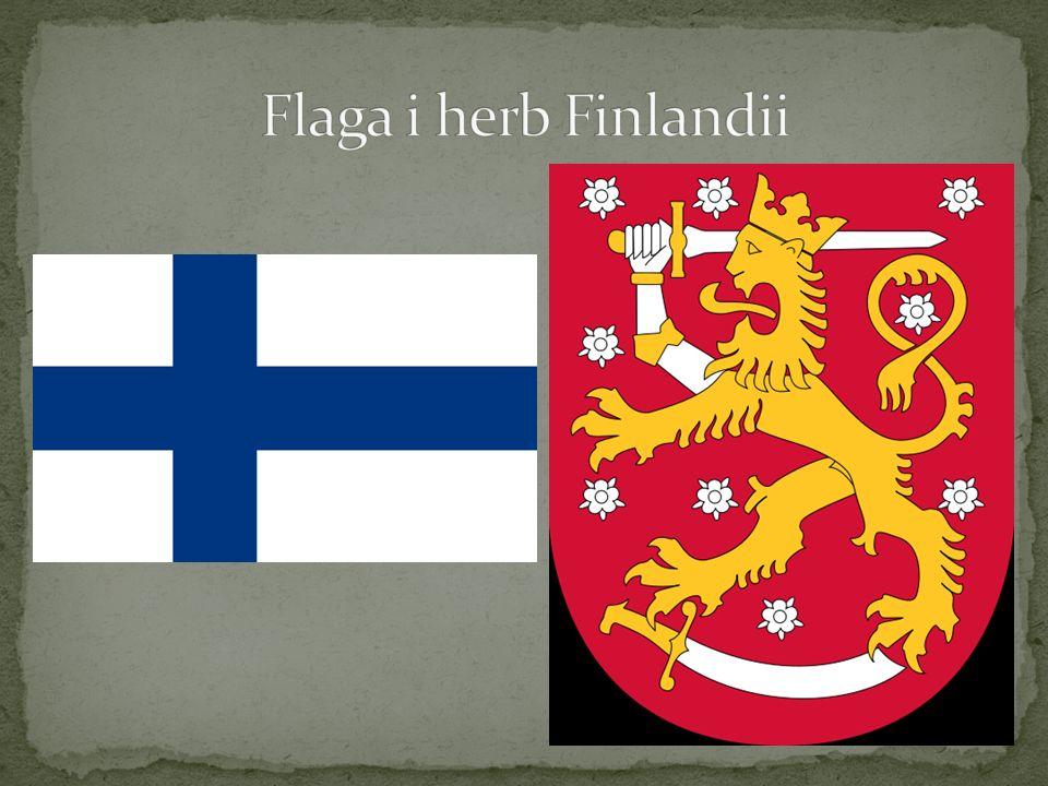 Flaga i herb Finlandii