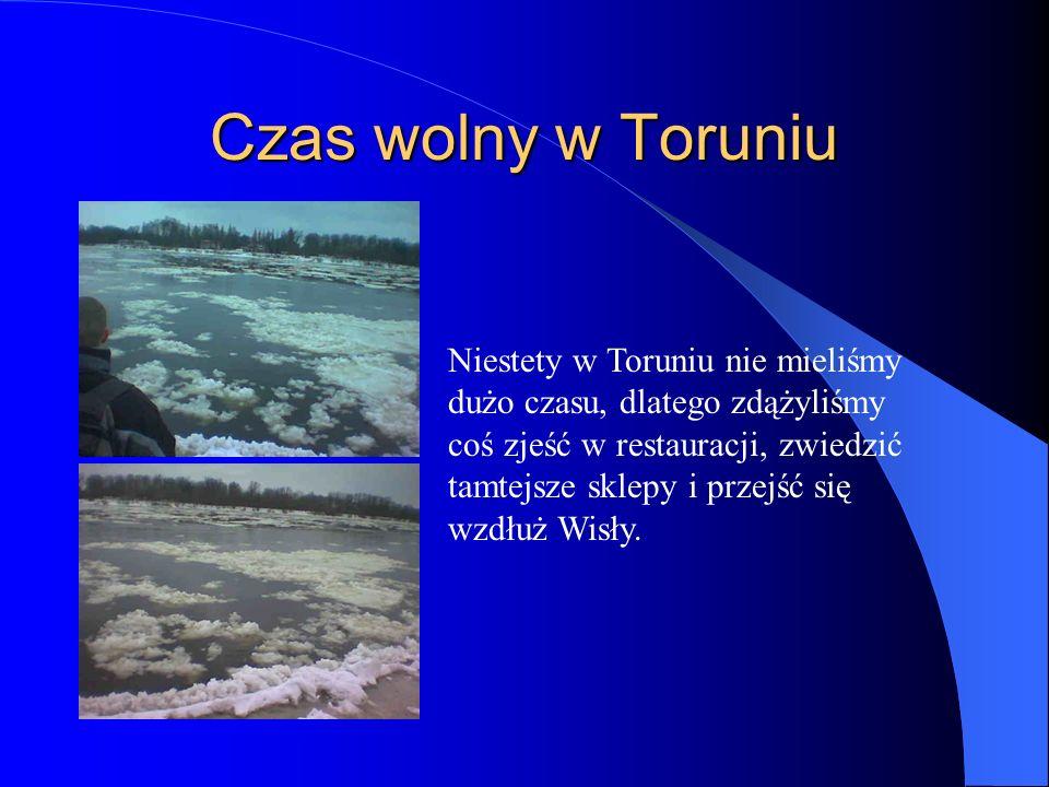 Czas wolny w Toruniu