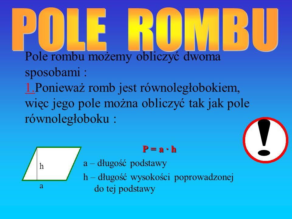 POLE ROMBU
