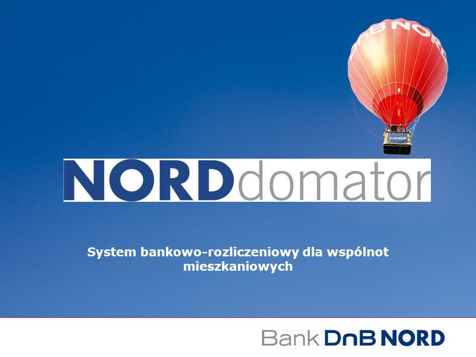 System bankowo-rozliczeniowy dla wspólnot mieszkaniowych
